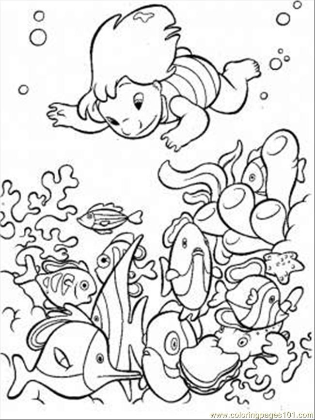 ocean scenes coloring pages - photo#15