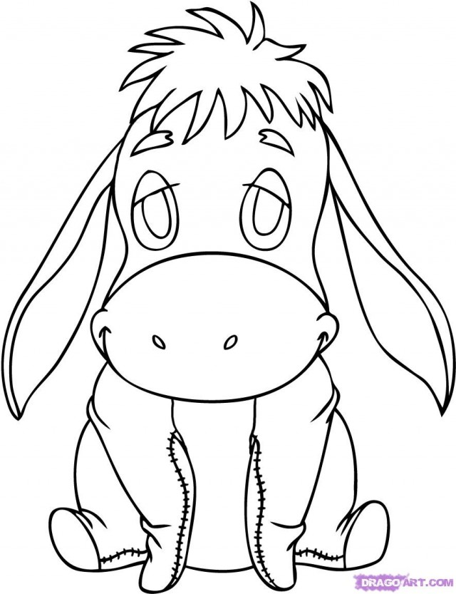 baby disney character coloring pages - photo #13