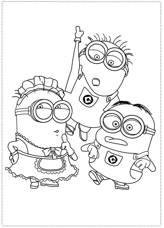 Despicable me coloring pages az coloring pages for Despicable me coloring pages printable