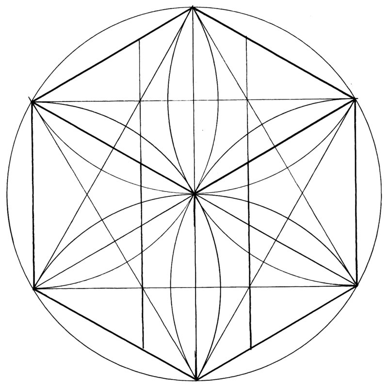 sacred geometry coloring pages - photo #43