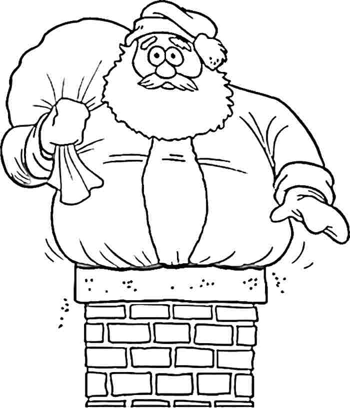 Santa Claus Template Printable