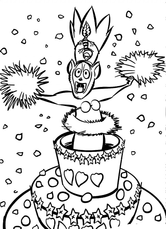 alex the lion coloring pages - photo#32
