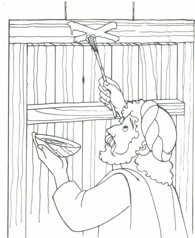 Free Coloring Pages Of Moses And Plagues