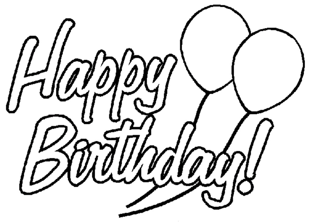 mom birthday coloring pages - photo#20