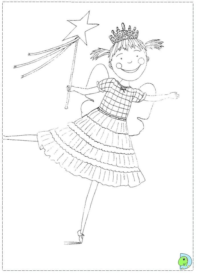 Pinkalicious Coloring Page - Coloring Home