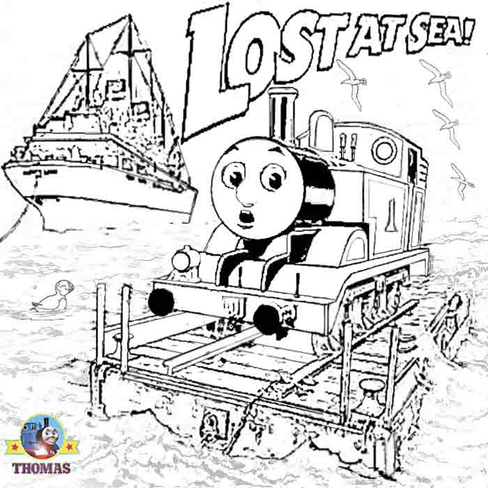 Thomas The Train Coloring Pages Coloring Home
