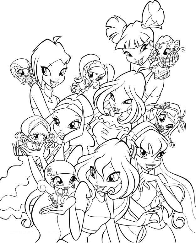 Winx Just Fairies