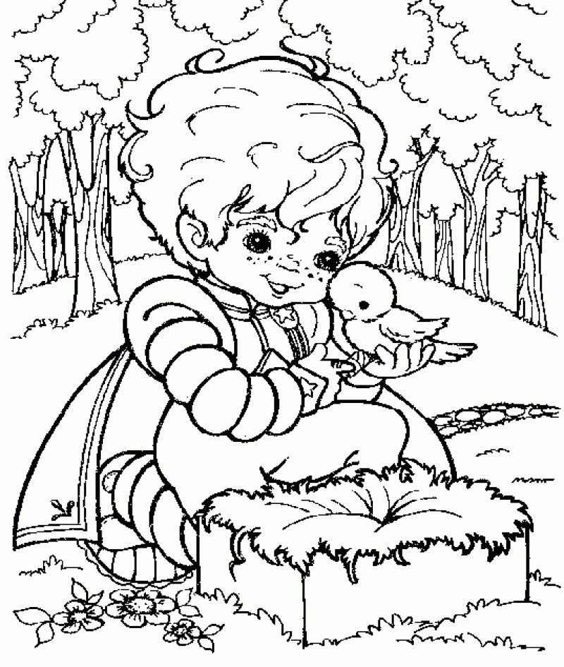 Coloring Pages Rainbow Brite