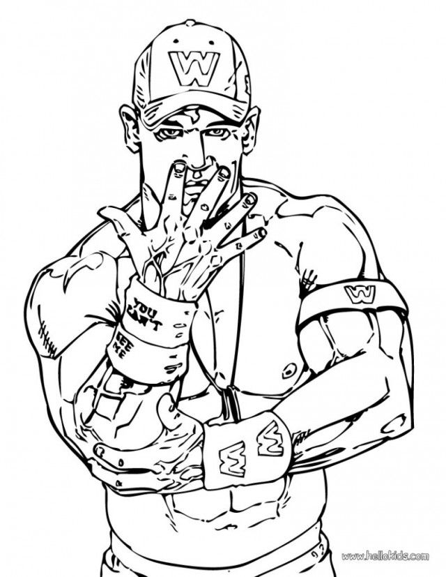 The Rock Coloring Page For Kids Printable Coloring Sheet 286804 ...