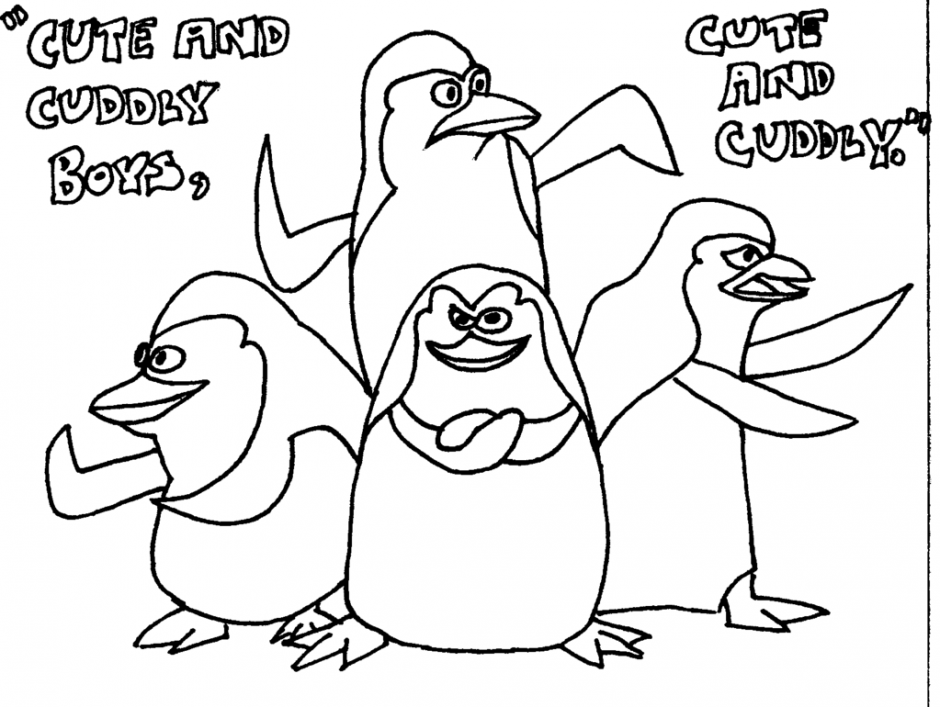 Penguins Of Madagascar Coloring Pages Coloring Home Penguins Of Madagascar Coloring Pages