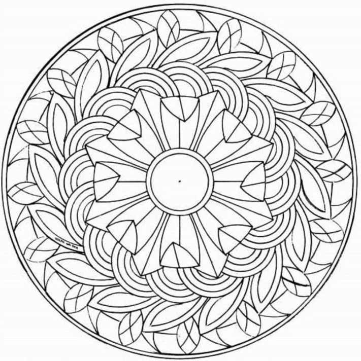 Free printable pictures to colour for adults