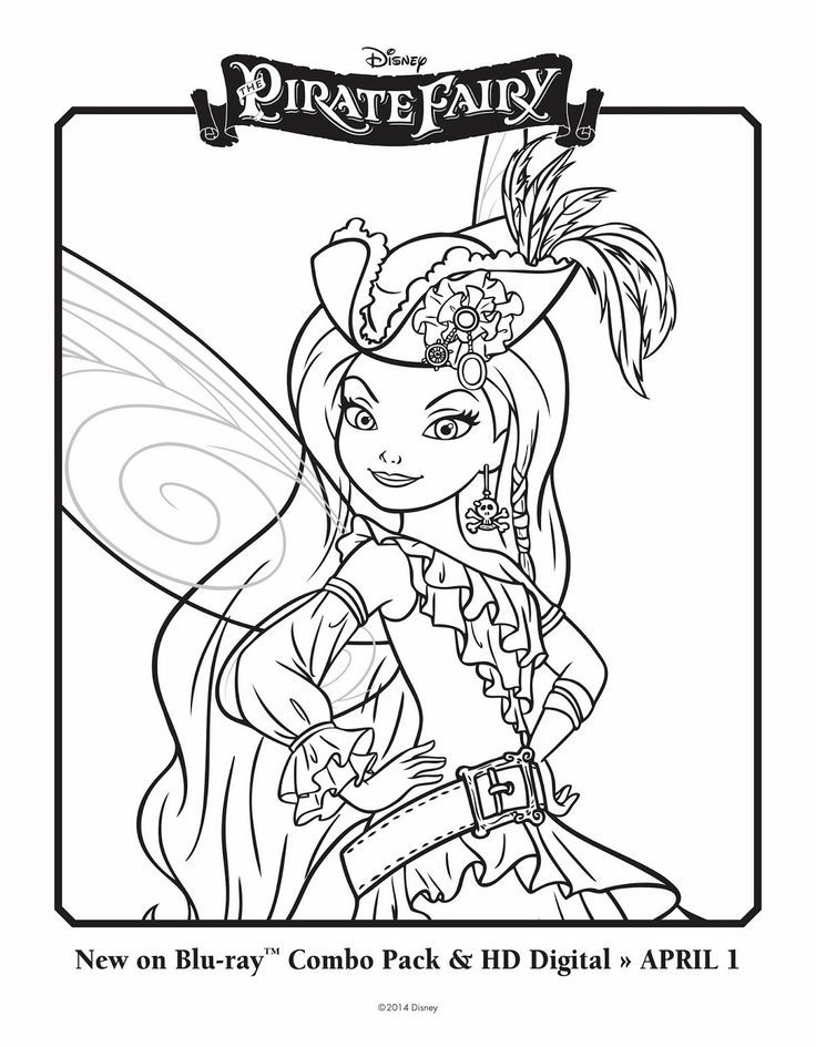 coloring pages pixie hollow-#34