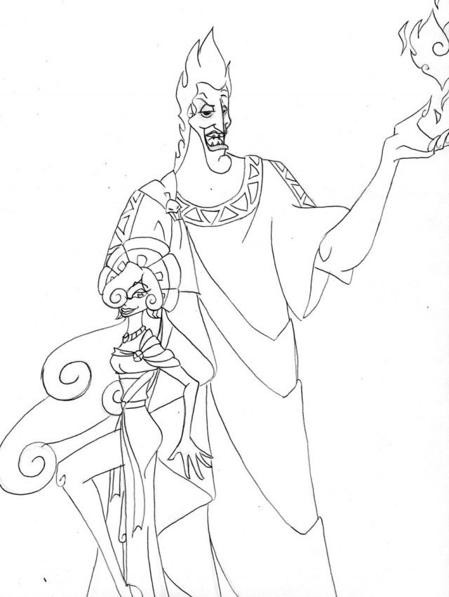 hades coloring pages 53512 label coloring pages of hades disney