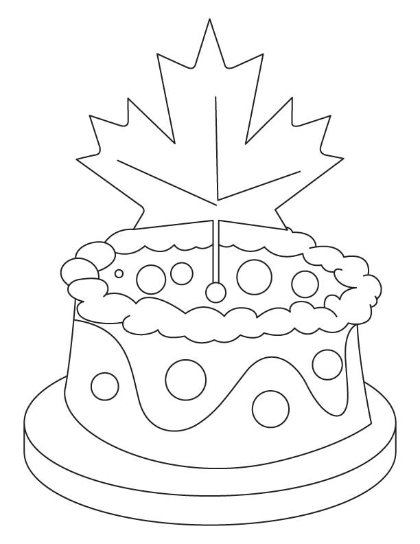 printable canadian flag coloring pages - photo#27