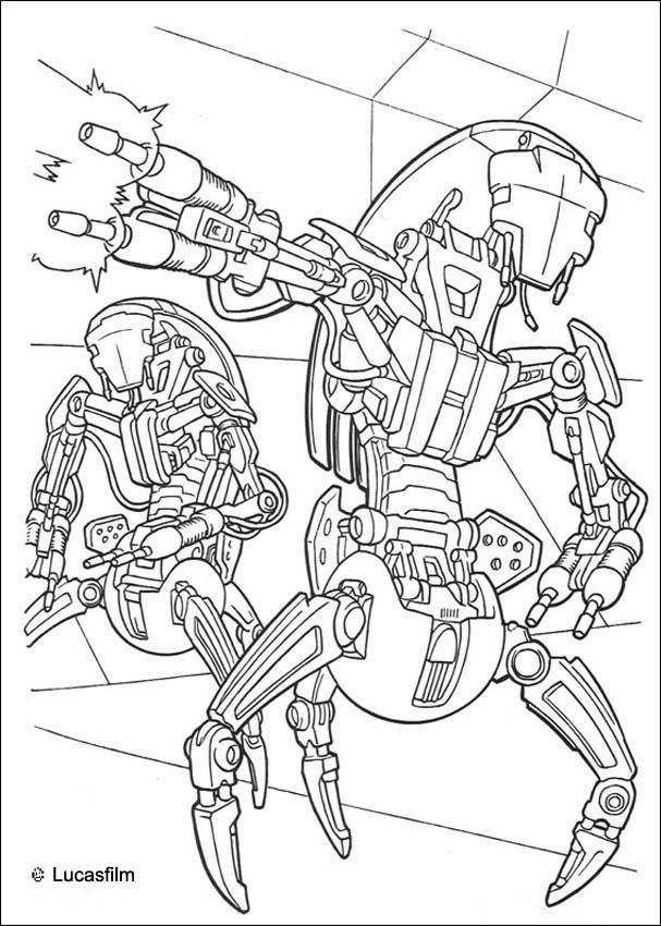 Star War Coloring Pages Coloring Home