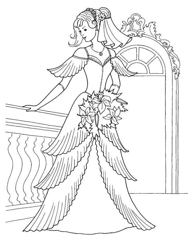 Princess Bride Coloring Pages Coloring Home