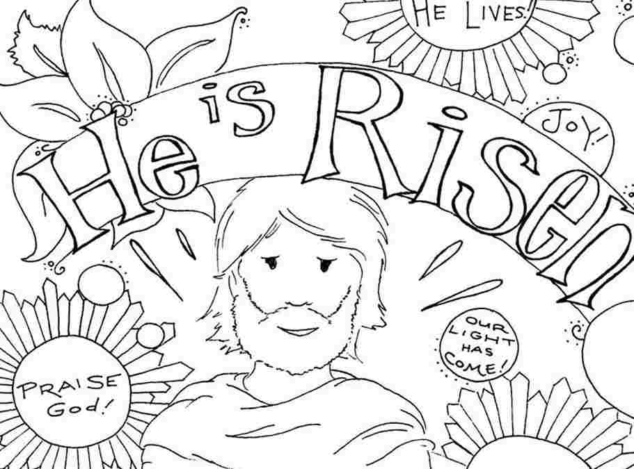 free coloring pages easter christian - photo#31