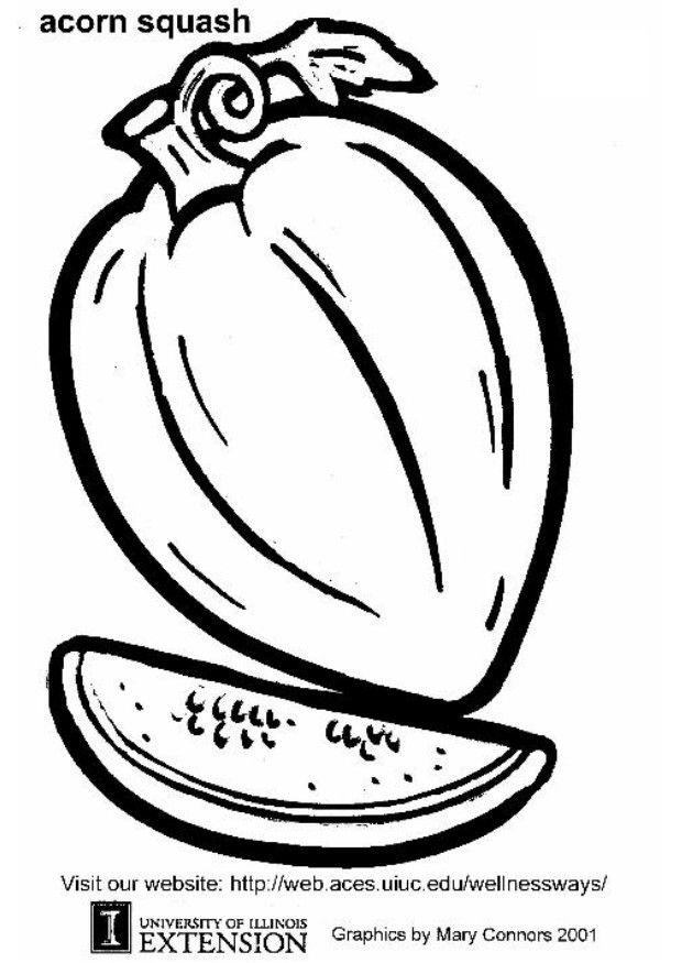 Acorn coloring sheet coloring home for Acorn coloring page