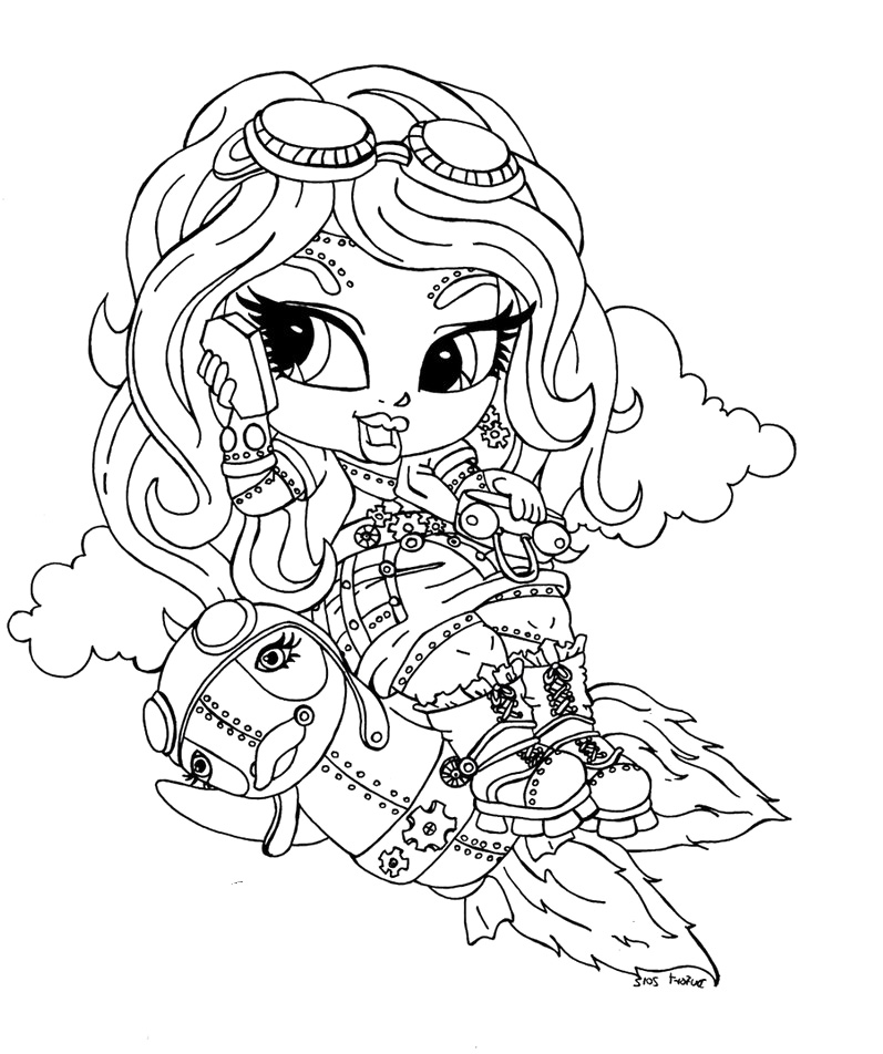 Monster High Coloring Pages Az Coloring Pages Coloring Pages For After High Babies