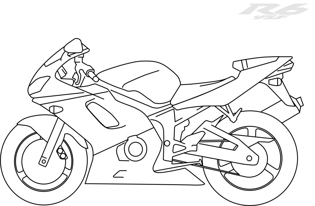 yamaha coloring pages - photo#36