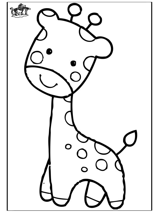 Baby Giraffe Coloring Pages Az Coloring Pages Giraffe Color Pages