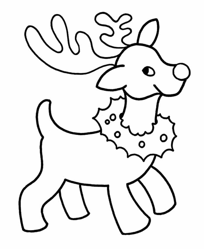 Prek Christmas Coloring Pages Coloring Home