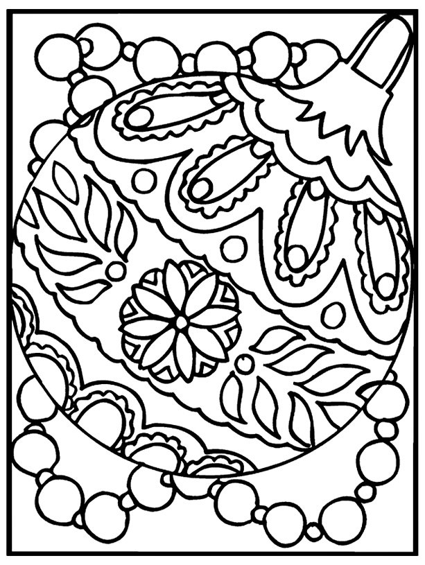 Free Printable Ornament Coloring Pages Followpics Coloring Pages For 2nd Grade