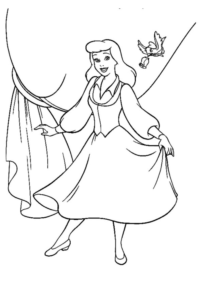 cinderella coloring pages disney az coloring pages