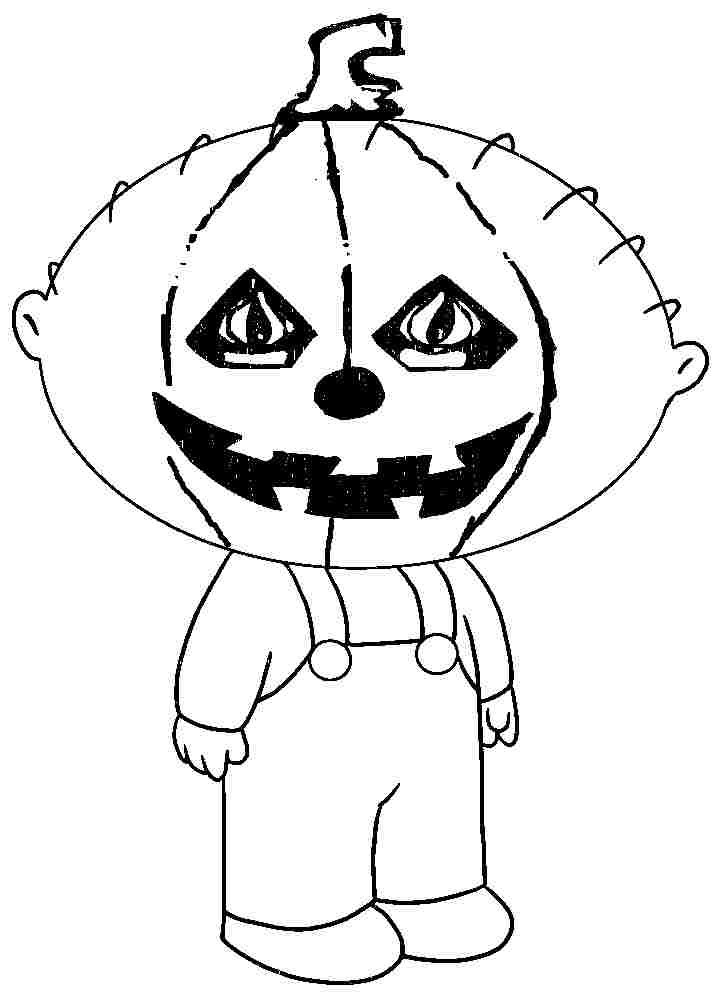 Halloween Coloring Pages Printable For Toddler #