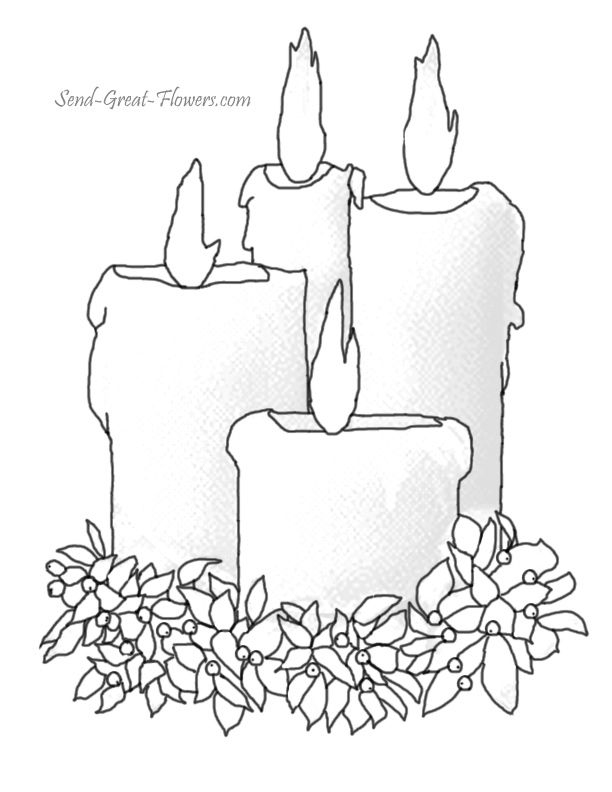 Printable Christmas Coloring Pages With Full Color Guide Coloring Home