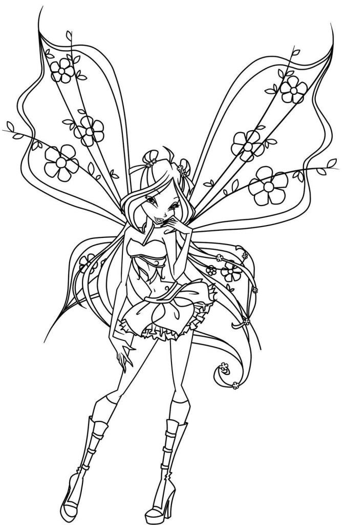 fairy online coloring pages - photo#9