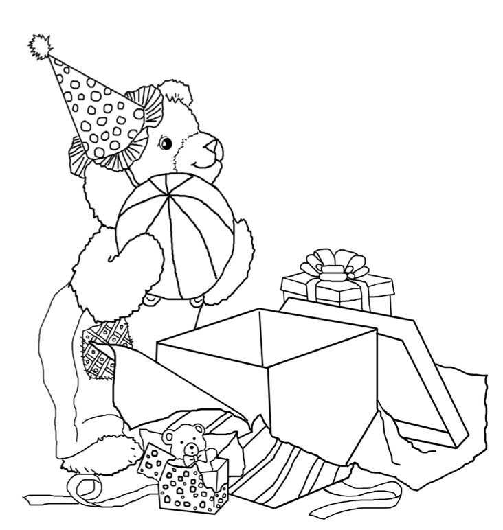 Corduroy Coloring Page - Coloring Home