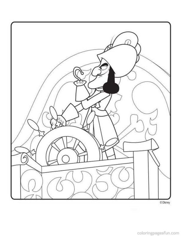 Jake and the Never Land Pirates | Free Printable Coloring Pages