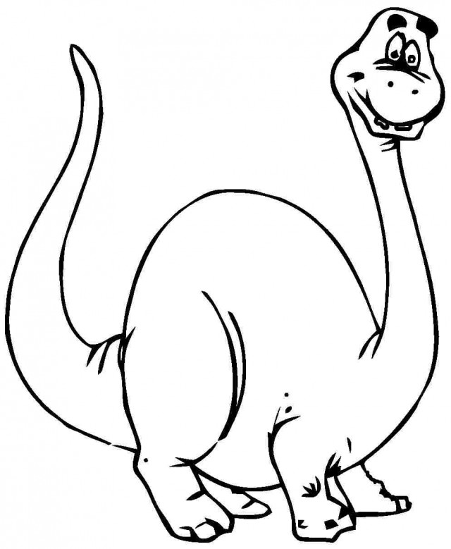 dinosaur cartoon coloring pages - cartoon triceratops coloring page bing images