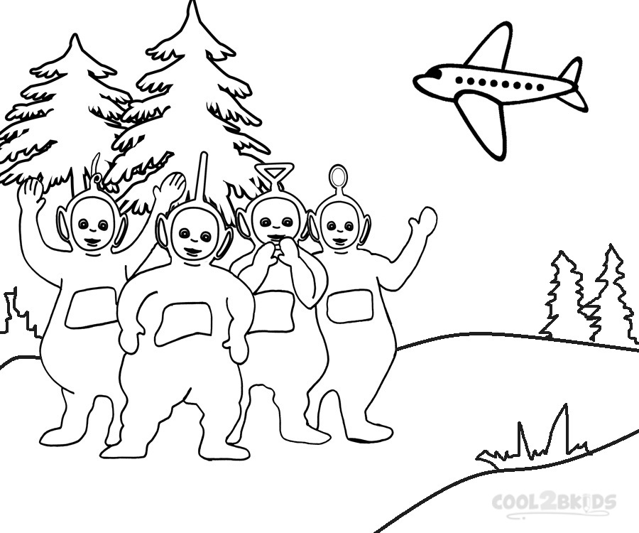 teletubbies online coloring pages - photo#20