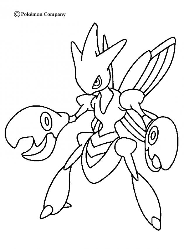 pokemon character coloring pages - photo#24