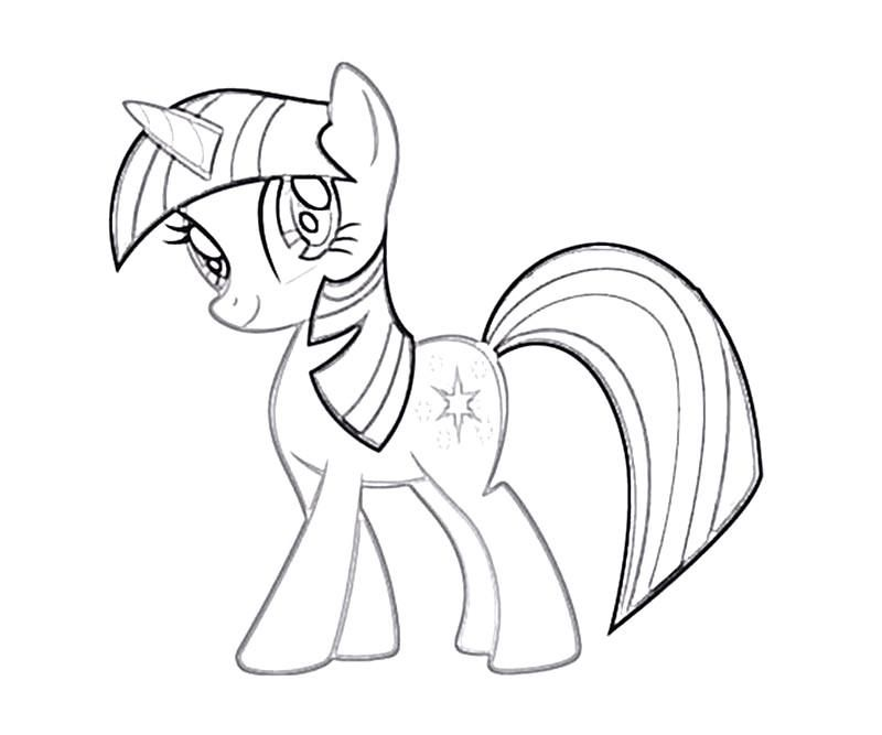 Twilight sparkle coloring page az coloring pages for Twilight sparkle coloring page