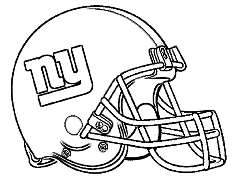 redskins helmet Colouring Pages (page 2)
