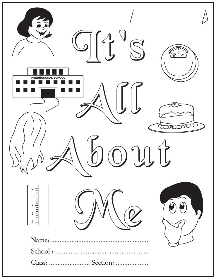 All About Me Coloring Pages Coloring Home All About Me Coloring Pages