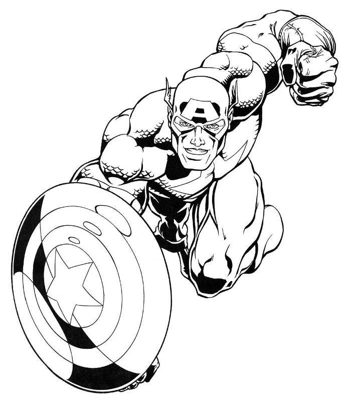 Marvel Malvorlagen Marvel Superhero The Marvel Super: Marvel Heroes Coloring Pages