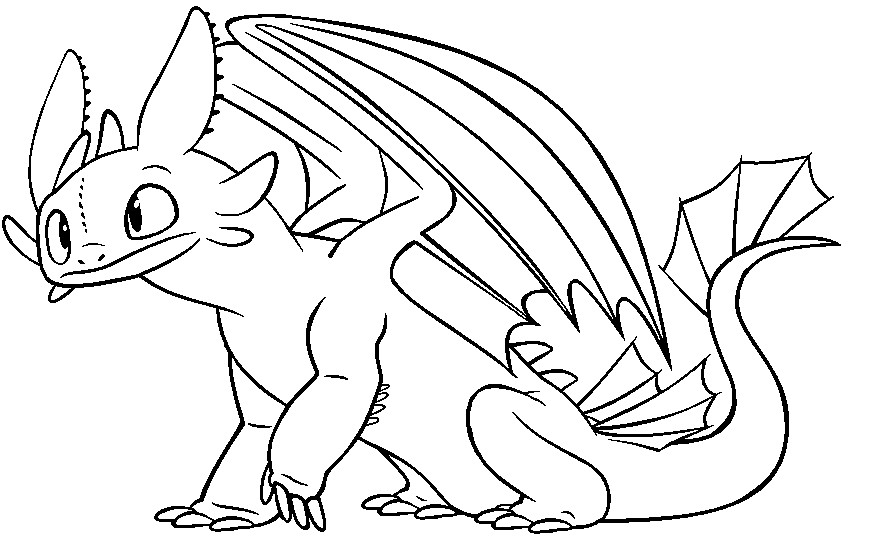 How To Train Your Dragon Pictures Of Toothless Az Toothless Coloring Pages