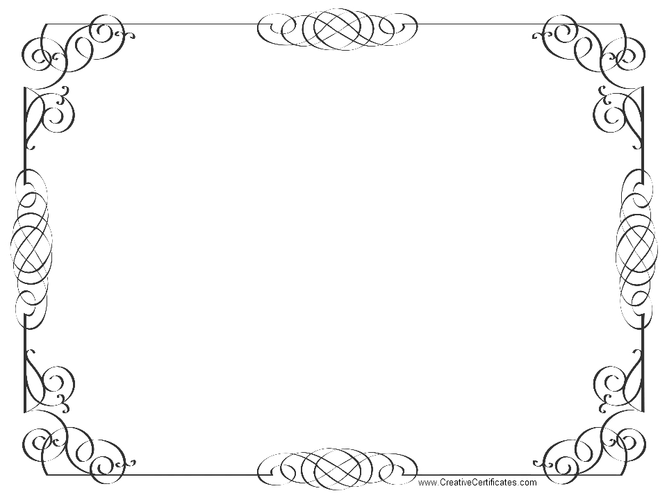 page border coloring pages - photo#14