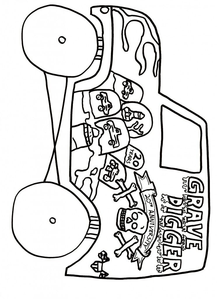 Gravedigger Coloring Pages Coloring Home