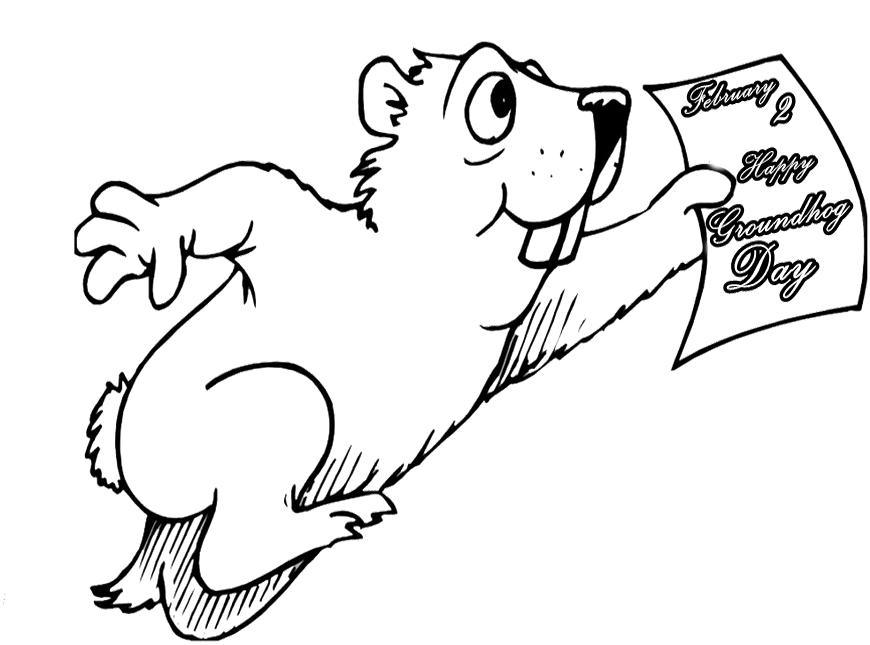 woodchuck coloring pages for kids - photo#13