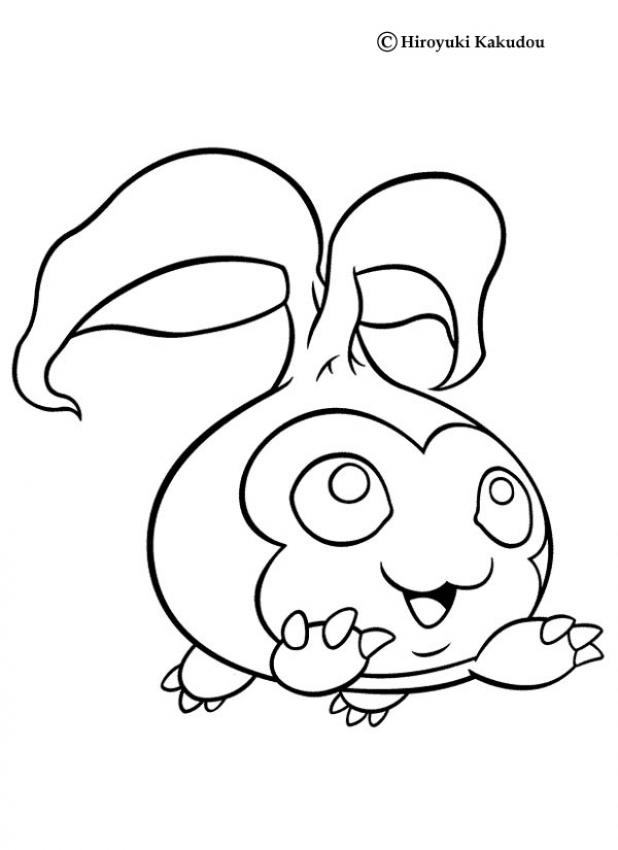 DIGIMON coloring pages - Digimon Tanemon