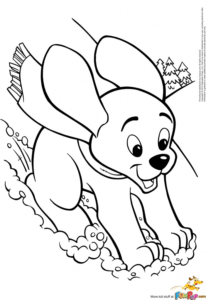 Free coloring pages of witch and