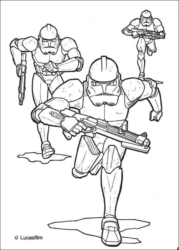 coloring pages and clone wars - photo#13