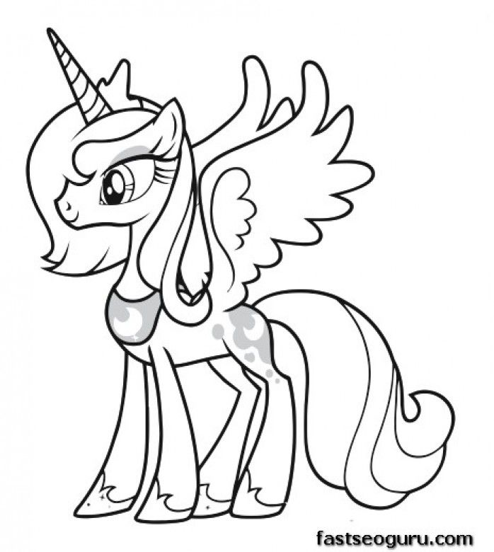 Coloring Pages My Little Pony Friendship Is Magic ...