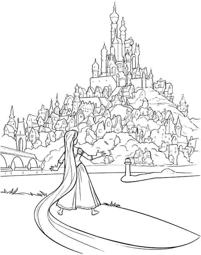printable tangled coloring pages az coloring pages