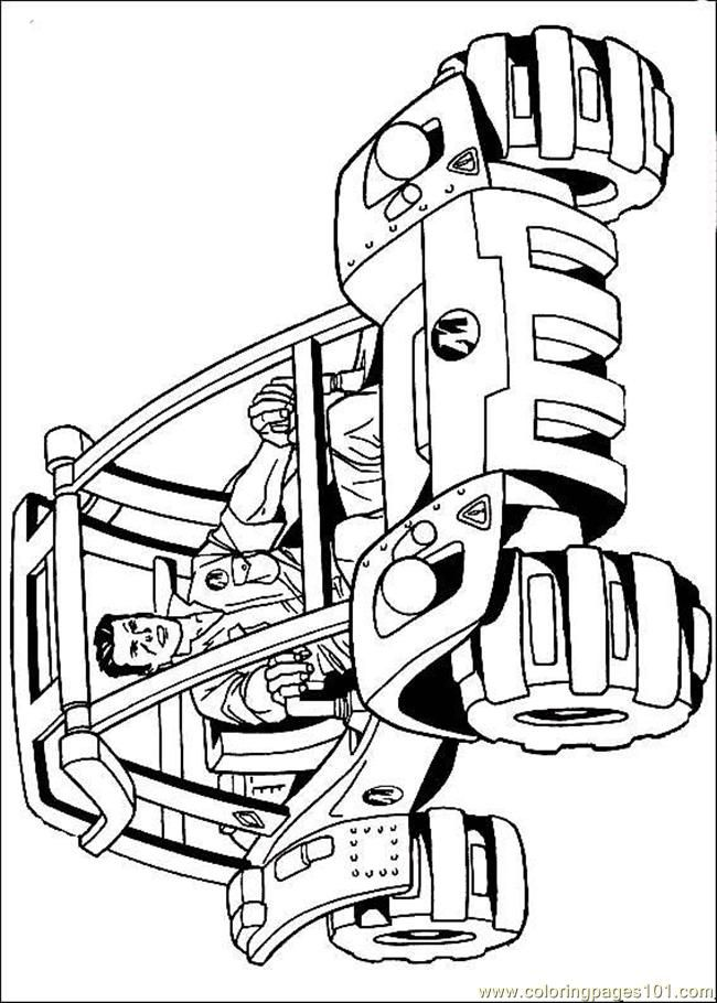 Coloring Pages Hotwheel6 Cartoons Gt Hot Wheels